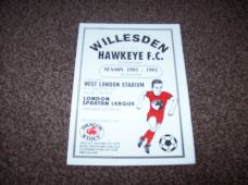 Willesden Hawkeye v Croydon Athletic, 1993/94